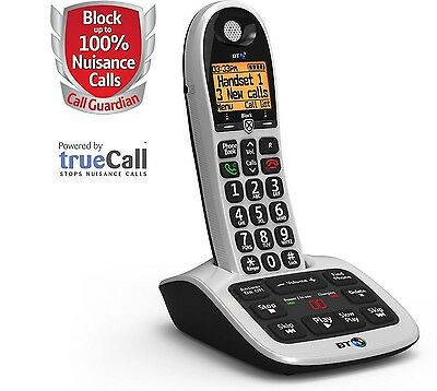 BT 4600 Cordless Phone With Answering Machine & Call Blocker BT4600