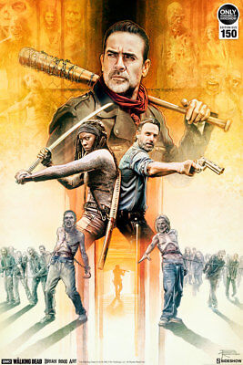 Sideshow Art Print Unframed The Walking Dead: My Brothers Keeper 94/100