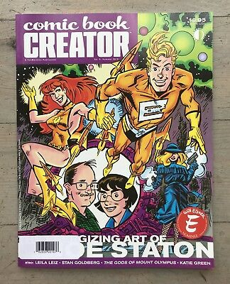 Comic Book Creator #9 2015 World NEW Unread Joe Staton