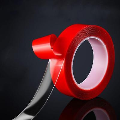 Strong Double-sided Clear Transparent Acrylic Foam Adhesive Tape 5-30mm
