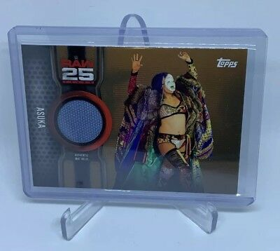 Asuka #MR25-AS [074/199 Event Used Canvas Mat Relic] Topps 2018 **HOT**