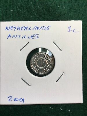 Netherlands Antilles 2001 Coin