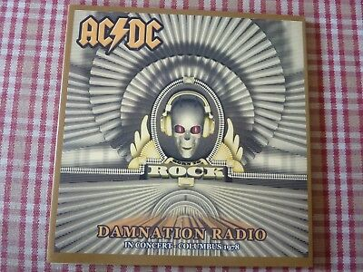 CD AC/DC Damnation Radio concert WLVQ FM Veteran's Mem. Hall Columbus 10 sept.78