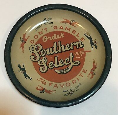 Southern Select Beer Spin Top Tray Galveston Brewery