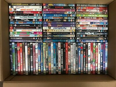 100 DVD Joblot No Reserve Great Opportunity! Free Shipping!