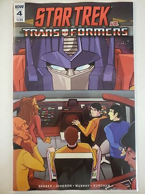 Star Trek vs. Transformers #4 B Cover IDW NM Comics Book