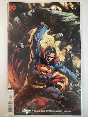 Superman #7 B Cover DC NM Comics Book