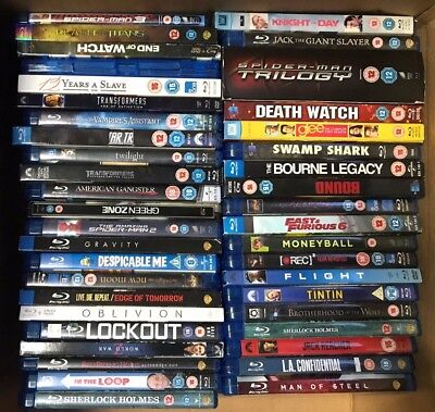 43 Bluray Joblot No Reserve Great Opportunity! Free Shipping!