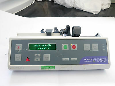 Graseby 3150 Pca Syringe Infusion Pump Driver Neonatal Medical Administration Uk
