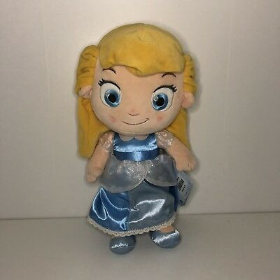 "Disney Store Cinderella Toddler 12"" Soft Plush"