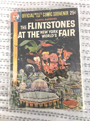 The Flintstones at the 1964 New York World's Fair Comic Official Souvenir