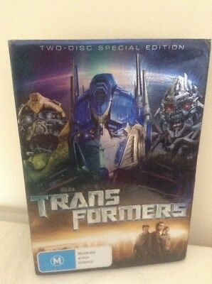 Transformers Movie DVD - Two disc special edition - Rated M - FREE SHIPPING