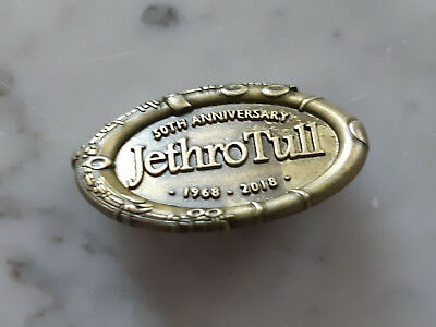 new unused JETHRO TULL badge official merchandise