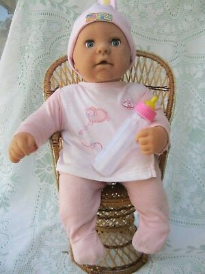 "Zaph Creations Love Me Chou Chou 19"" Interactive Dressed Doll With Bottle"