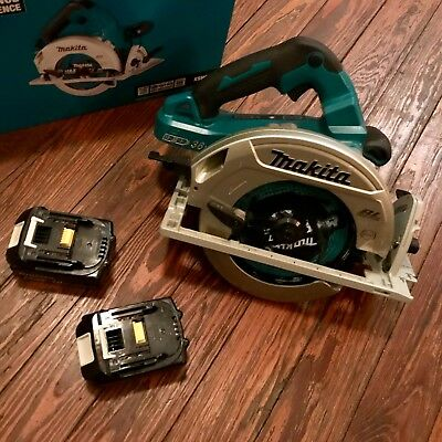 "Makita XSH06Z 18V X2 LXT Lithium-Ion (36V) Cordless 7-1/4"" Circular Saw W/ Batts"