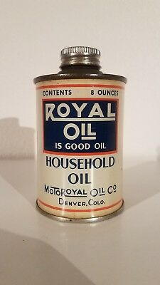 Royal Motor Oil Household Oil Can