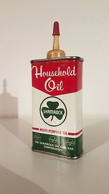 Vintage Shamrock Household Oil Can