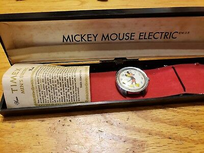 Mickey Mouse Electric Watch