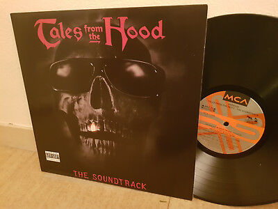 TALES FROM THE HOOD Wu Tang Gravediggaz THE SOUNDTRACK MCA LP