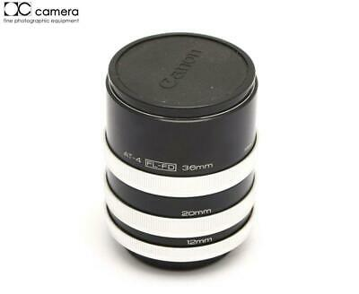 Vivitar AT-4 Extension Tube Set, 12mm 20mm 36mm for Canon FD  #15140