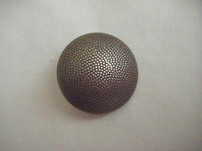 German military silver coloured metal coat button.Overhoff & CIE 25 mm