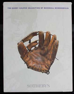 Sotheby's Auction Catalog: Barry Halper Collection of Baseball Memorabilia, 1999