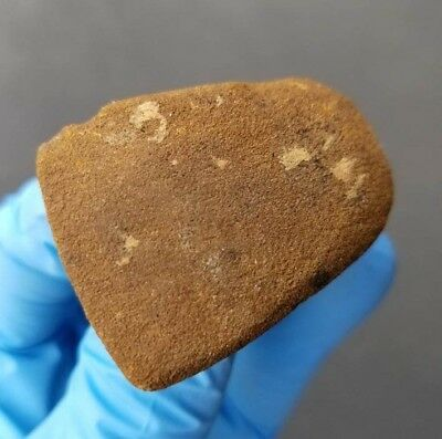 Indiana Mini Celt IN Sandstone Stone Axe Indian Artifact Arrowhead Arrowheads