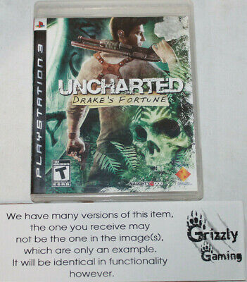 USED Uncharted Drake's Fortune Sony PlayStation 3 PS3 (NTSC) -Canadian Seller-