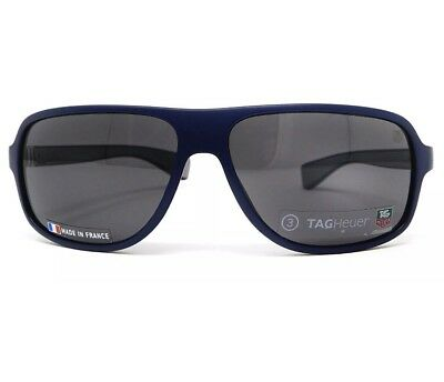 ac1002312e Tag Heuer 9304 104 Legend Sunglasses Dark Blue   Gray Frame Gray Lens