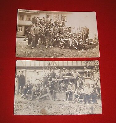 Two Interwar German Communist Workers Photos