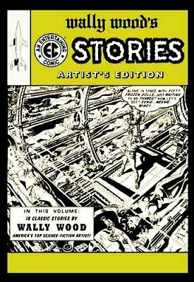 """WALLY WOOD""""s STORIES Artist's Edition Variant Cover Hardcover IDW NEW 2012  #AZ"""