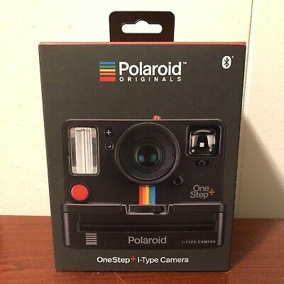 53cb3a738cc Polaroid Originals 9010 One Step i-Type Instant Film Camera Black Bluetooth  Comp