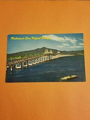 Postcard Richmond San Rafael Bridge SF Bay