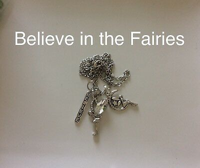 Code 273 Believe in the Fairies Infused Necklace Fairy Clear Mystical Mystery