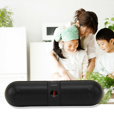 Portable Pill Wireless Bluetooth Outdoor Speaker Supports FM TF USB Functions UK