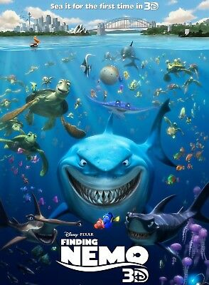 Finding Nemo - Disney / Pixar (3D Blu-ray, disk only) 2012