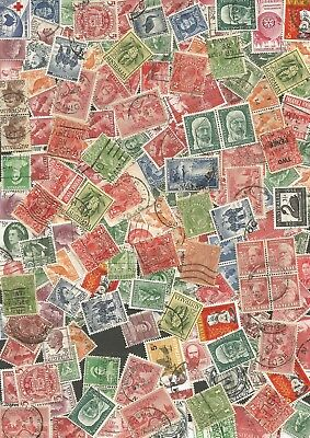 BULK PRE DECIMAL UNSORTED UNCHECKED USED STAMPS see scans ref 23/32