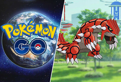 Pokemon Go Kyogre/Groudon - 100% GUARANTEED - Potential Shiny