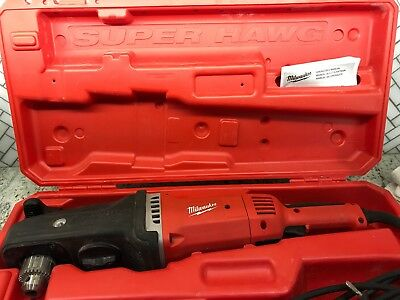 "Milwaukee 1680-21 Super Hawg 1/2"" Right Angle Drill"