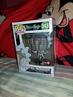 Funko Pop! Rick and Morty Rick (Facehugger) #343 Gamestop Exclusive