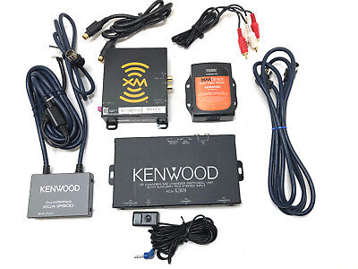 KENWOOD CD Changer Switching Unit KCA-S210A iPod Interface KCA-iP500 XM Direct