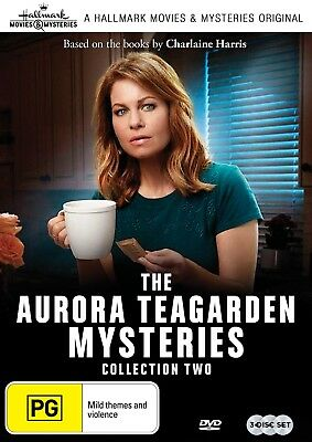 THE AURORA TEAGARDEN MYSTERIES Collection Two (Region 4) DVD Hallmark Mystery 2