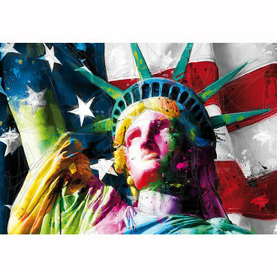Modern Abstract Huge Wall Art Painting On Canvas Freedom No Fram #D270