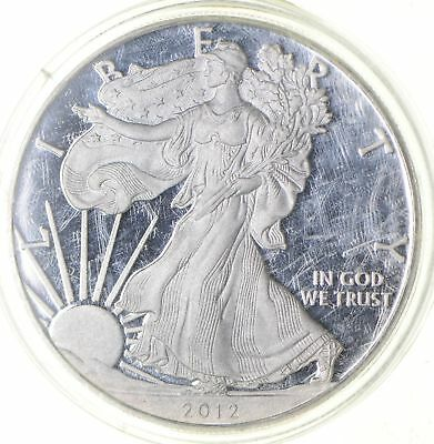 PROOF - NICE - 2012-W American Silver Eagle - DEEP CAMEO Proof - Rare *227