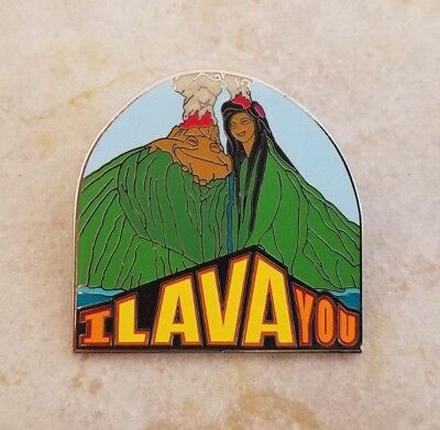 Pin Trading Disney Pins Uku and Lele I Lava You Pixar Short 118983 Volcano Love
