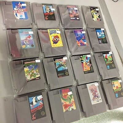 Nintendo NES Huge Lot of Games - Mario 3, Gyromite More! All Excellent Shape!