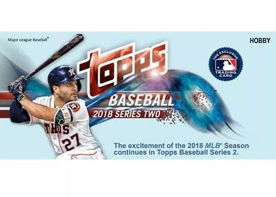 2018 Topps Series 2 Baseball COMPLETE BASE SET 351-700 (350 cards) Free Shipping