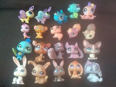 LITTLEST PET SHOP Lot Of 20 LPS MIXED ANIMALS ~Some Rare / Older MORE AVAILABLE!