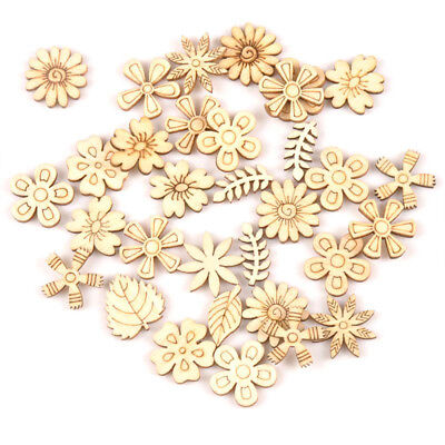 DIY Crafts Plant/Flower/grass Natural Wood Ornament Embellishment Scrapbooking