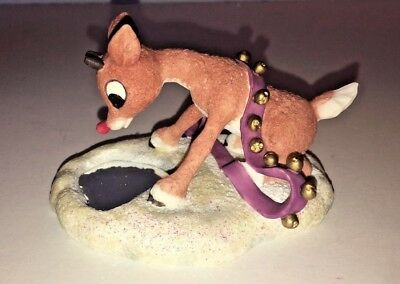 Enesco Rudolph and the Island of Misfit Toys Let Your Light Shine Rudolph Figure
